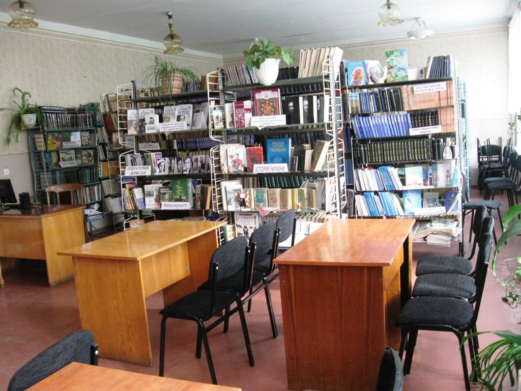 Виставки в читальному залі (2)