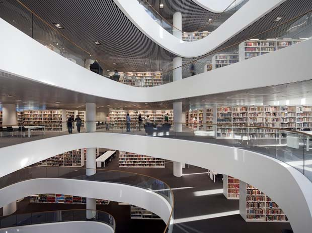 University of Aberdeen New Library