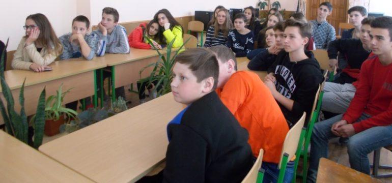 Перегляд фільмів патріотичної тематики у ЗОШ №3 м. Борислава