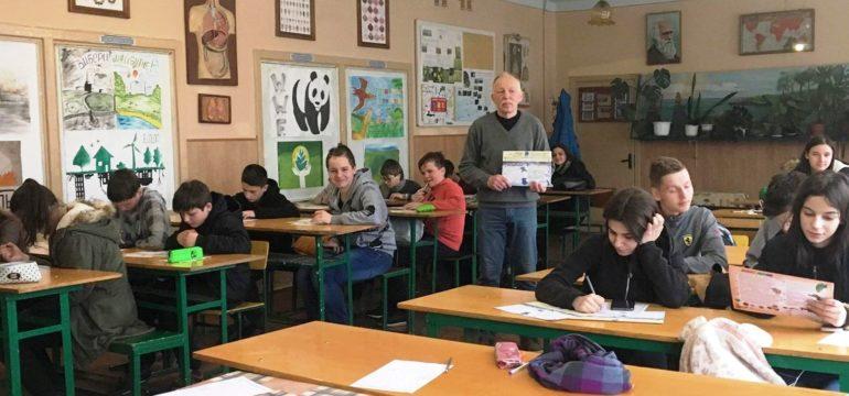 В нашій школі відбувся  Міжнародний природничий інтерактивний конкурс «КОЛОСОК ВЕСНЯНИЙ 2019».