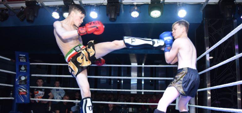 Перший бориславець на професійному рингу з кікбоксингу